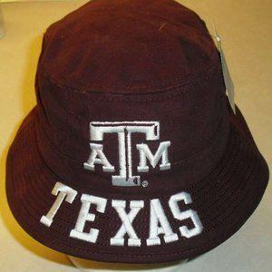 Texas A&M Youth kids Adidas Bucket hat Ncaa
